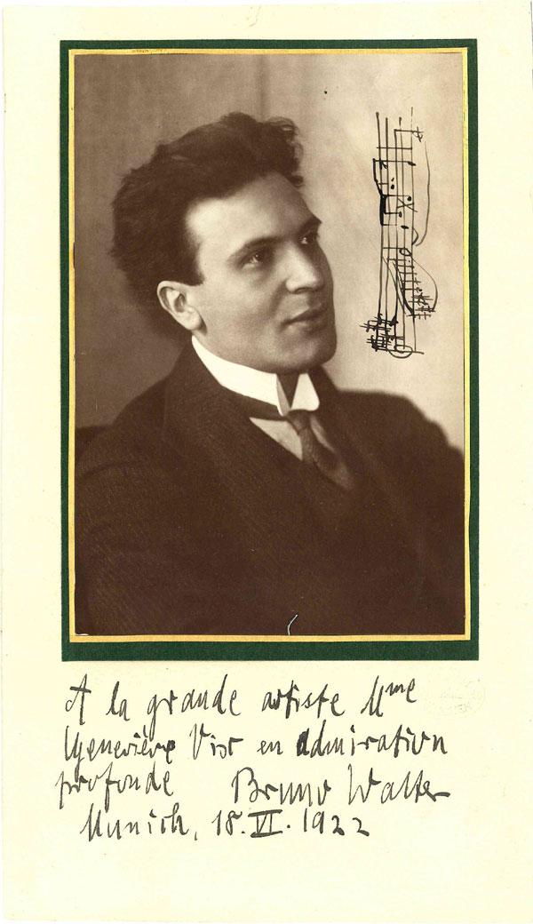 Bruno Walter, Conductor, 1876 - 1962