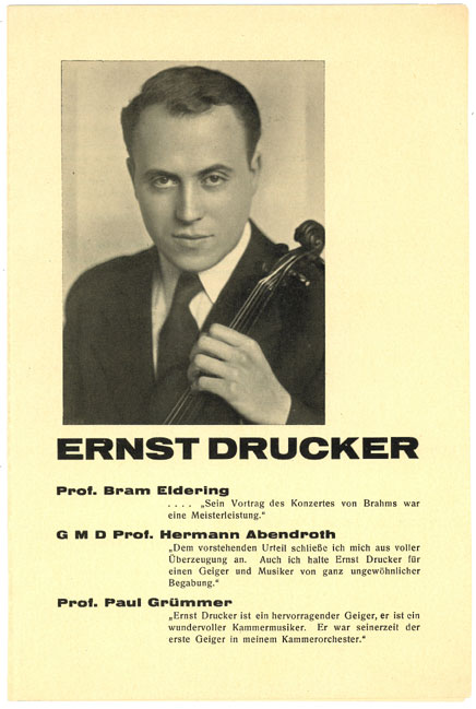Ernst Drucker Brochure