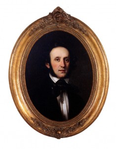 Portrait of Felix Mendelssohn Bartholdy by Edward Magnus, 1840