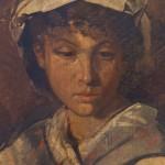 Anselm Feuerbach - Head of A Girl