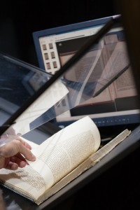 Rare book digitization. Creative Commons Stanford University Library