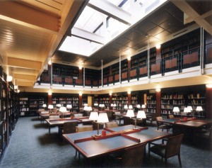The Lillian Goldman Reading Room at the Center for Jewish History