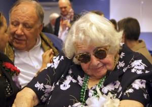 Glueckselig celebrates her 100th birthday at Leo Baeck Institute.
