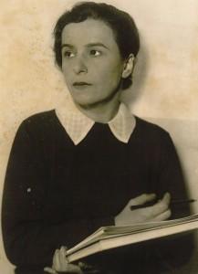 A portrait of Lene Schneider-Kainer.