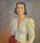 "Joseph Margulies. ""Portrait of Rose Susan Hirschhorn"", 1940."