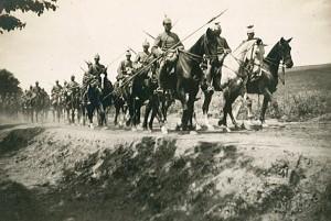 A German cavalry regiment (Uhlanen))