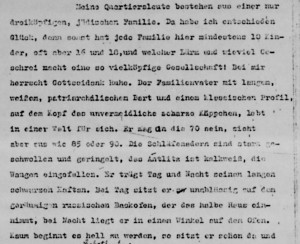 A page from Helmut Freund's Memoir