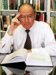 Professor Ismar Schorsch, President Emeritus of LBI and Chancellor Emeritus of Jewish Theological Seminary