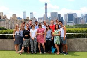 ELES students during one of the organization's Auslandsakadamie seminars in New York.