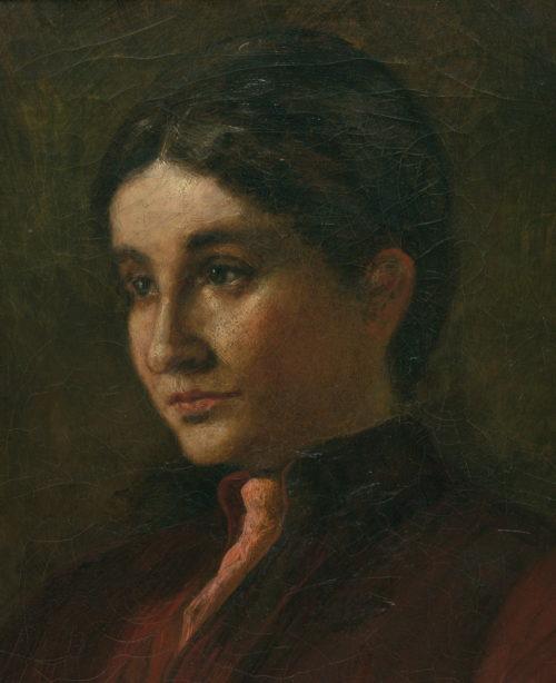 Portrait der Frauenrechtlerin Bertha Pappendem.