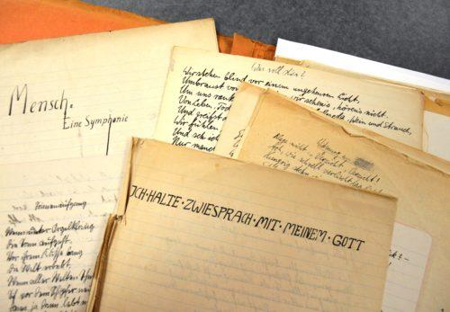 Gedichte und Prosa aus den Jahren 1919 und 1920
